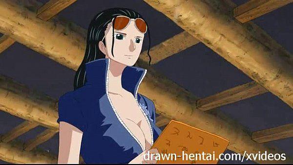 One Piece Hentai - Nico..
