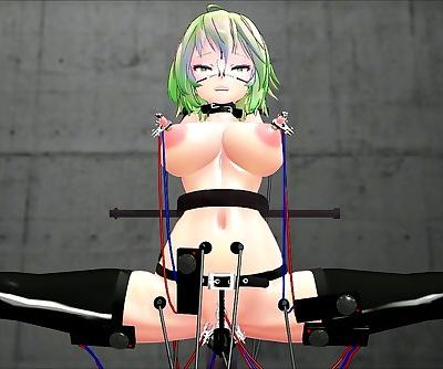 【MMD R-18】 Electric Gumi