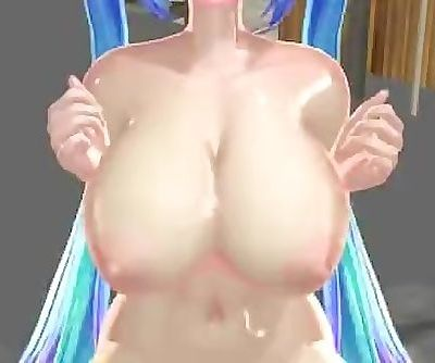 Hatsune Miku With Big Boobs