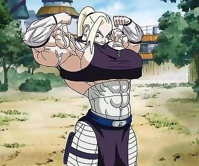 Inos new Jutsu Muscle Growth!